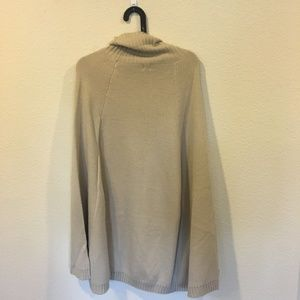 UNIQ Dresses - NWT UNIQ turtleneck cape sweater dress